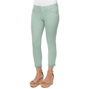 """Democracy """"Ab""""solution Mint Ankle Skimmer Pants 6P"""